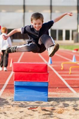 talented kid running