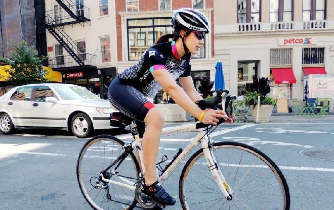 Rachel Buschert - cycling