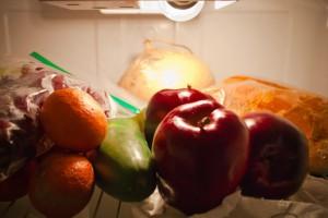 fridge - healthy food