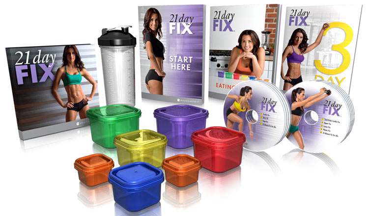 21 Day Fix review - what is included