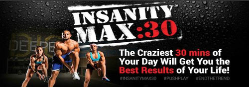 Insanity Max 30 review