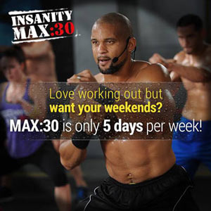 Insanity Max 30 Review - Shorter and More Effective Insanity