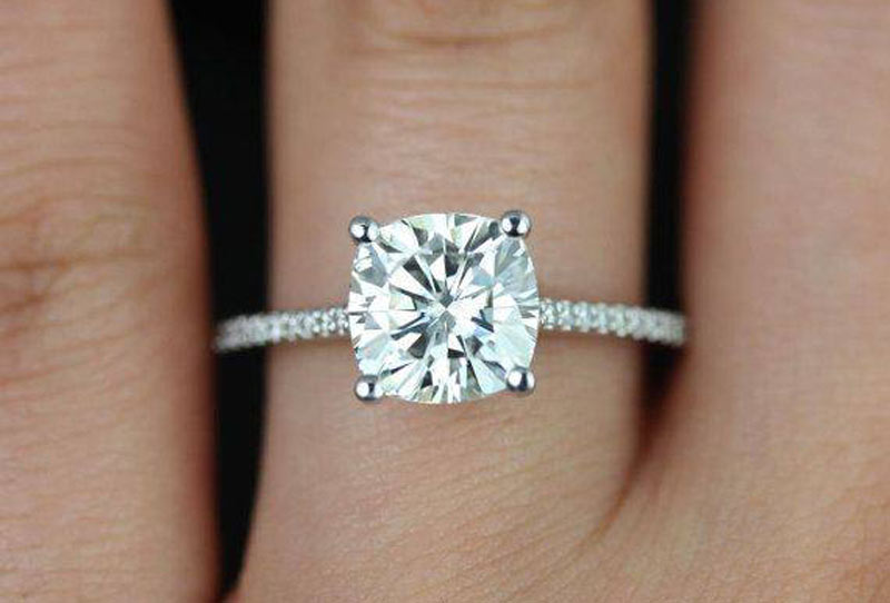 All you need to know about Moissanite engagement rings