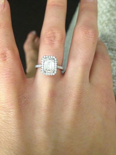 Moissanite Engagement Rings A Growing Trend In The Us