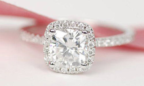moissanite engagement rings review
