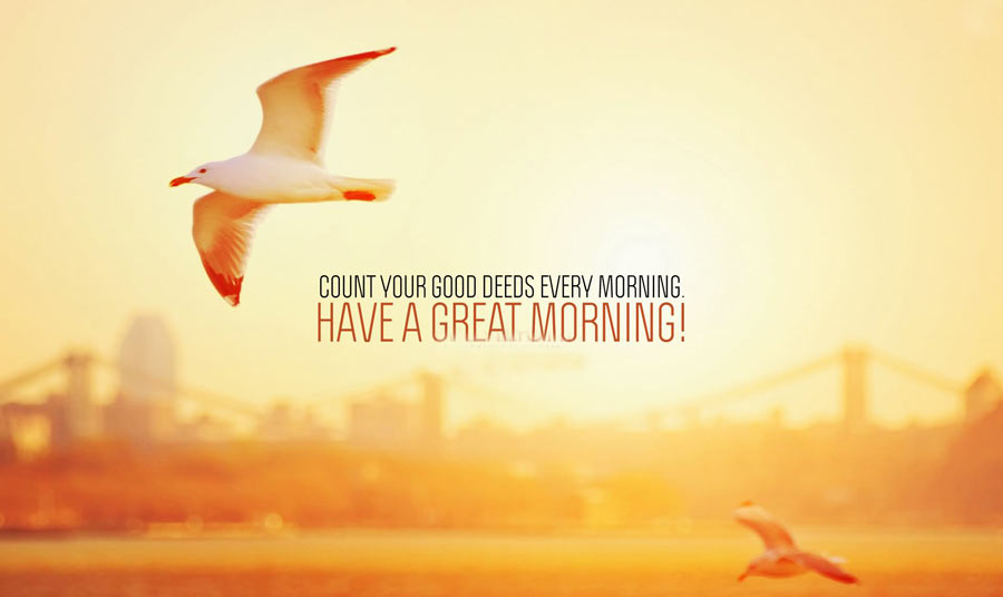 Count-Your-Good-Deeds-Every-Morning