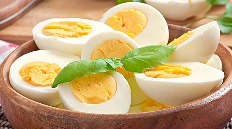 hard boiled egg fast