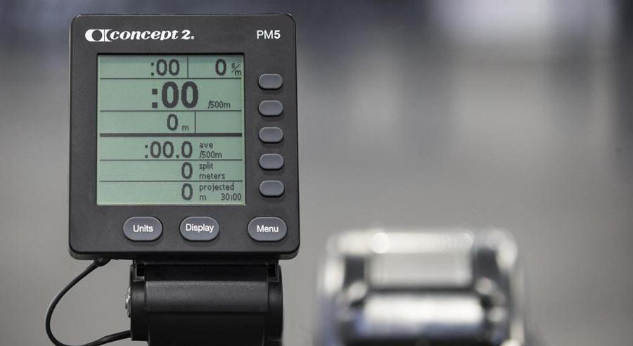 Concept2 Black Rower Pm5