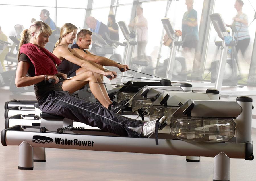 water rowing machine workout