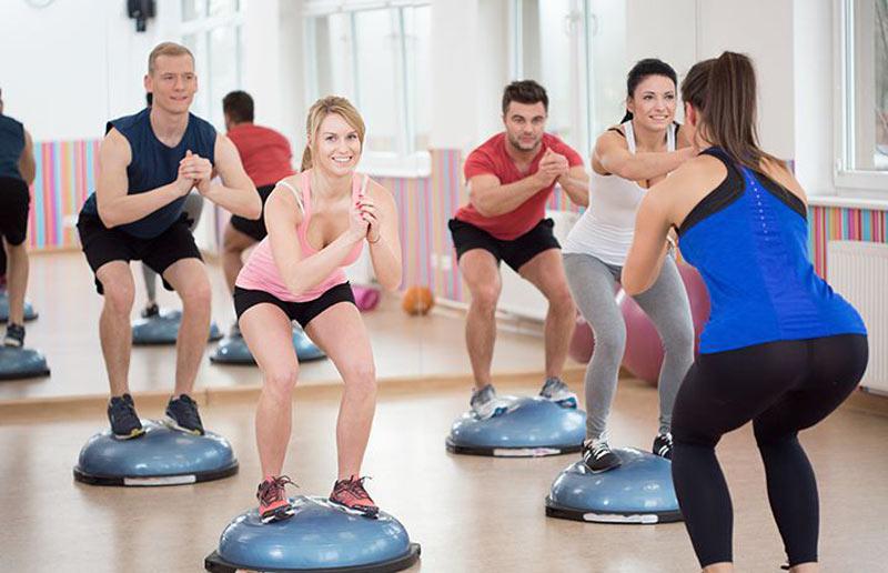 Balance Training Exercise