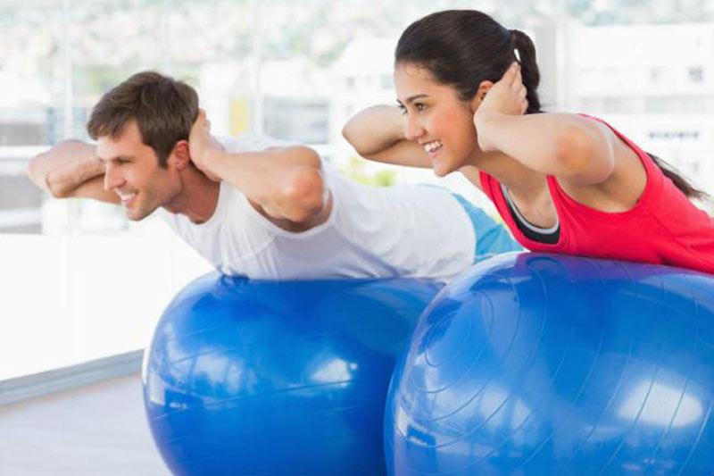 Swiss Yoga Ball Balance