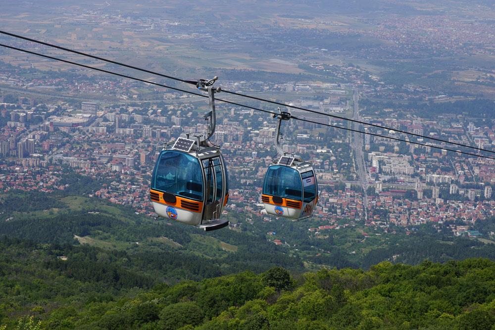 Macedonia Skopje Vodno Mountain
