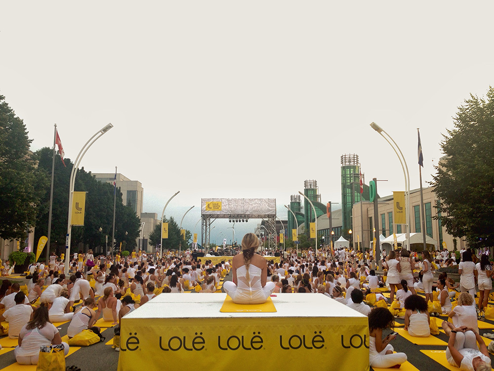 Lole White Tour Yoga