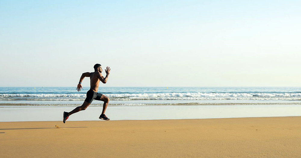 Running In Sand