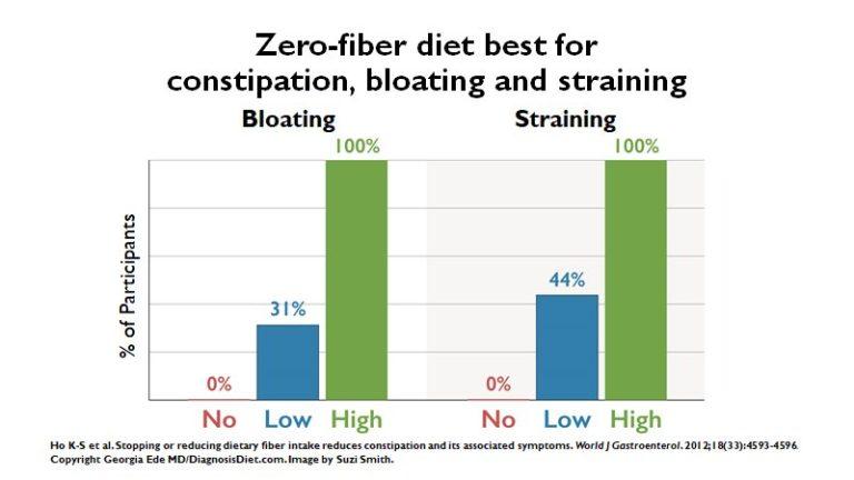 Dietary Fiber Intake (zero carb diet)