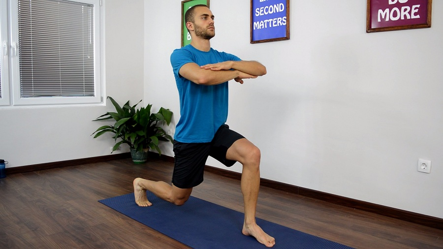 Holding The Lunge