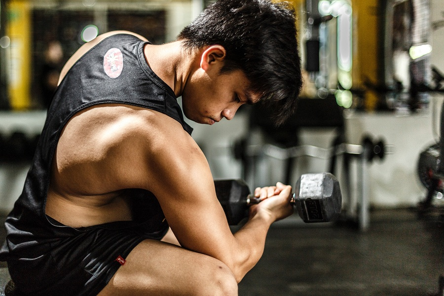 Concentration Dumbbell Curls