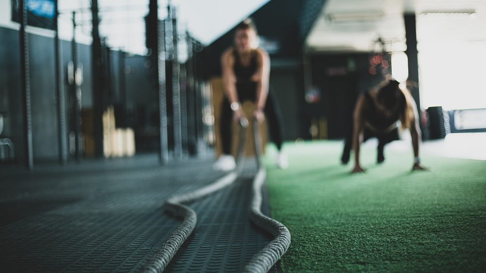 Training With Ropes Crossfit